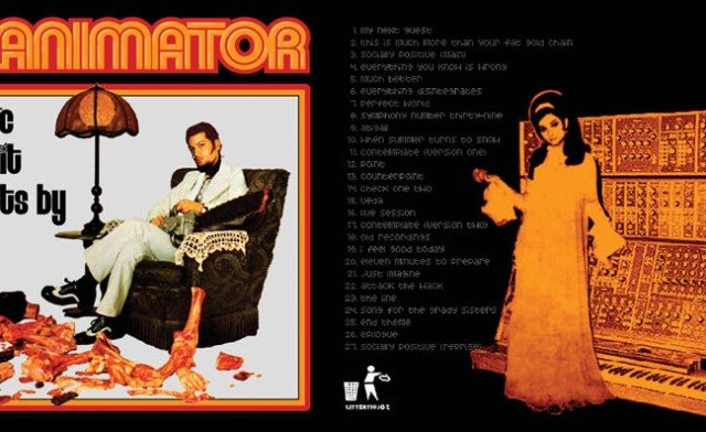 reanimator music to slit wrists by 2005 front back LARGE