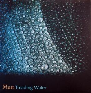 mutt treading water